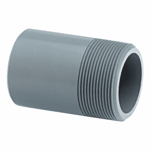 ABS Plain to Threaded Pipe Fittings - Imperial / Inch