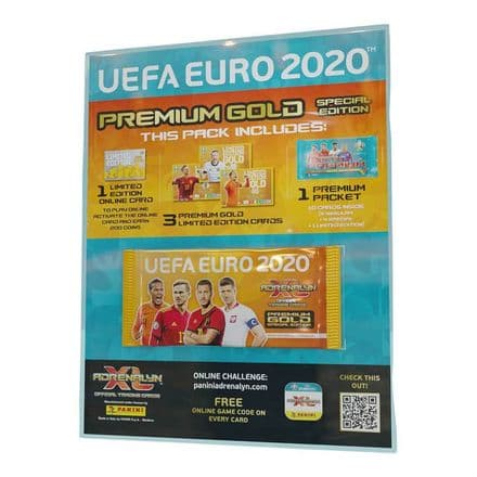 Adrenalyn XL Euro 2020 - Premium Gold Pack