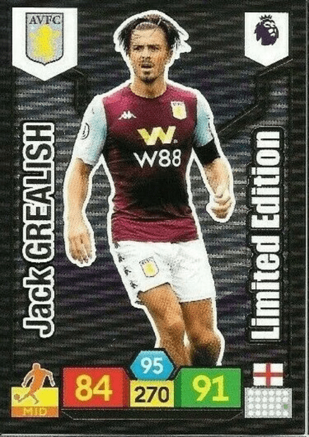 Jack Grealish (Aston Villa Limited Edition / AXL PL 2019/20)