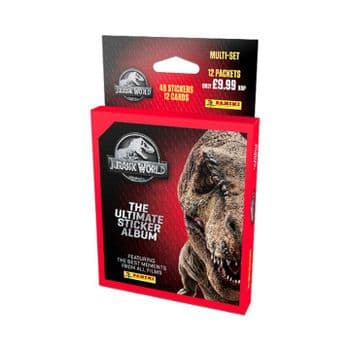 Jurrasic World: The Ultimate Sticker Collection - Multi-Set/Blister Pack