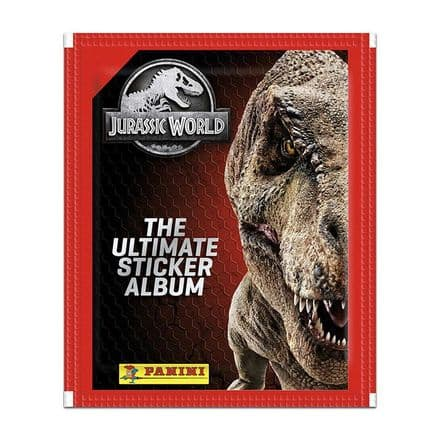 Jurrasic World: The Ultimate Sticker Collection - Packs