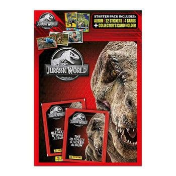Jurrasic World: The Ultimate Sticker Collection - Starter Pack