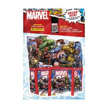 Marvel 80th Anniversary Sticker Collection - Starter Pack