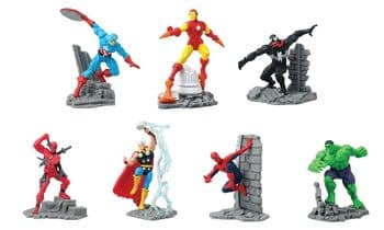 Marvel Collectible Diorama Figures 2.75""