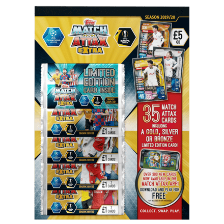 Match Attax Extra 19/20 Multipack