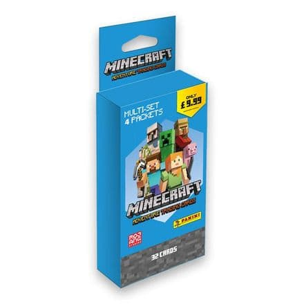 Minecraft Adventure Trading Card Collection - Blister Pack