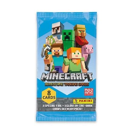 Minecraft Adventure Trading Card Collection - Packs
