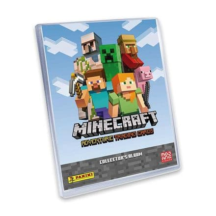 Minecraft Adventure Trading Card Collection - Starter Pack