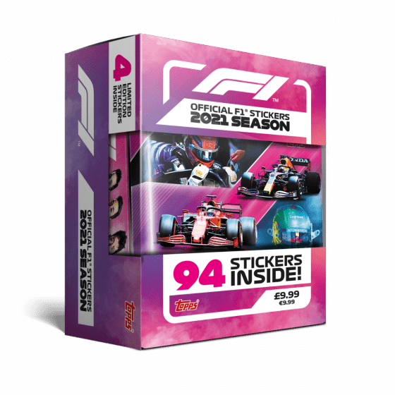 Official F1 Sticker Collection 2021 - Tin