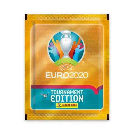 Panini Euro 2020 Tournament Edition Sticker Collection - Packs/Box