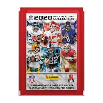 Panini NFL 2020 - Sticker & Card Collection Packs