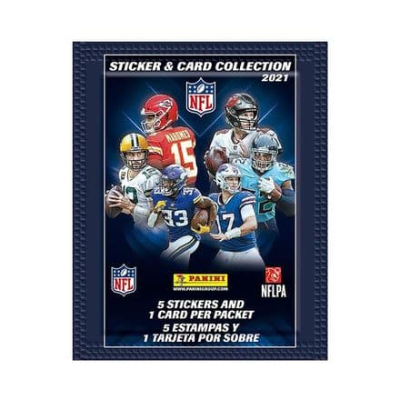 Panini NFL 2021 - Sticker & Card Collection Pack