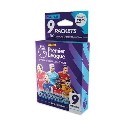 Panini's Premier League 2021 Sticker Collection - Multi-Set
