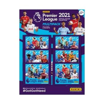 Panini's Premier League 2021 Sticker Collection - Multipack