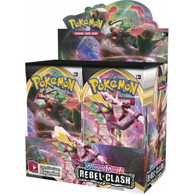 Pokemon TCG: Sword and Shield: Rebel Clash - Booster Pack