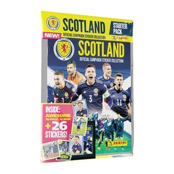 Scotland 2021 Official Sticker Collection - Starter/Album Pack
