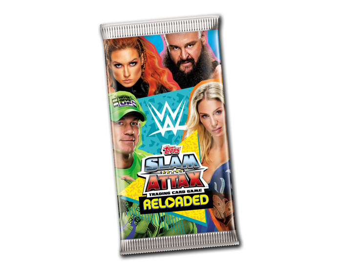 Slam Attax Reloaded - Pack (7 Cards)