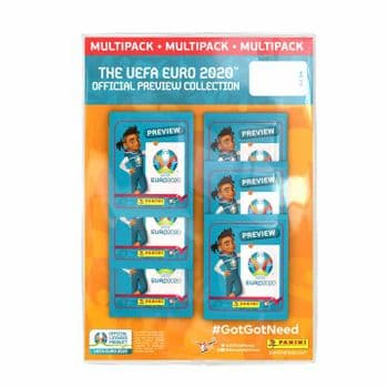UEFA Euro 2020 Preview Sticker Collection - Multipack