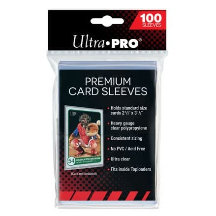 Ultra Pro Premium Card Sleeves (100 pack)