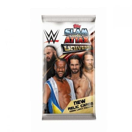 WWE Slam Attax Universe - Pack (7 Cards)
