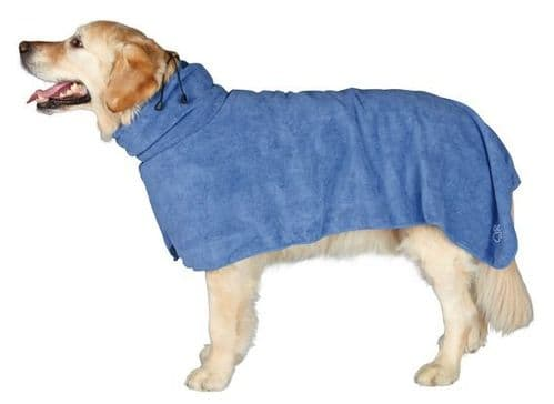 Dog Bath Robe Drying Towel - trixie