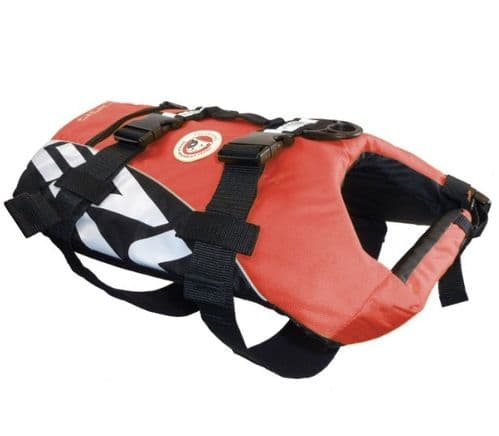 EzyDog Life Jacket - Red Dog buoyancy aid