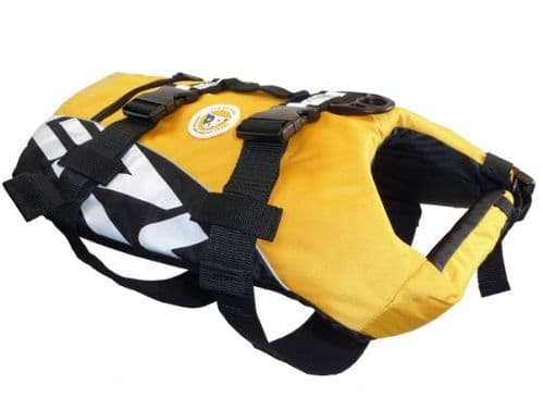 EzyDog Dog Life Jacket - Yellow