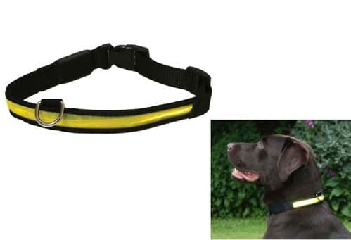 Rosewood Yellow Flashing Hi VIS Collar