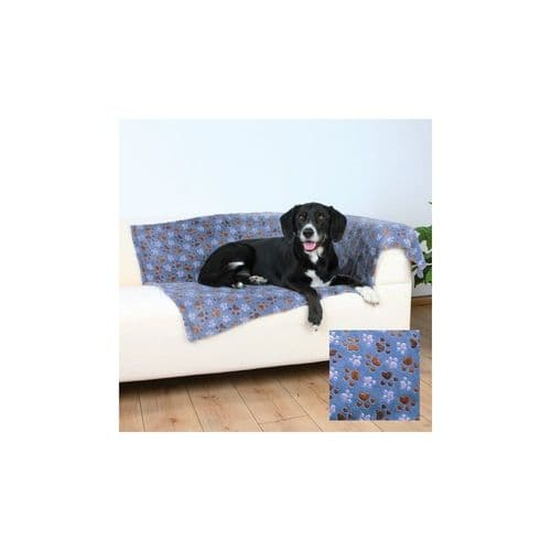 Trixie Laslo Fleece Dog Blanket - Blue