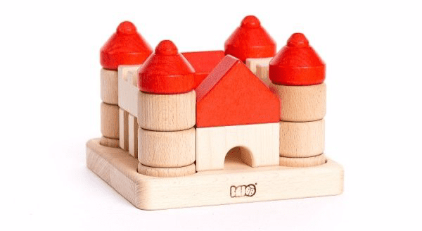 Bajo Castle Wooden Stacker