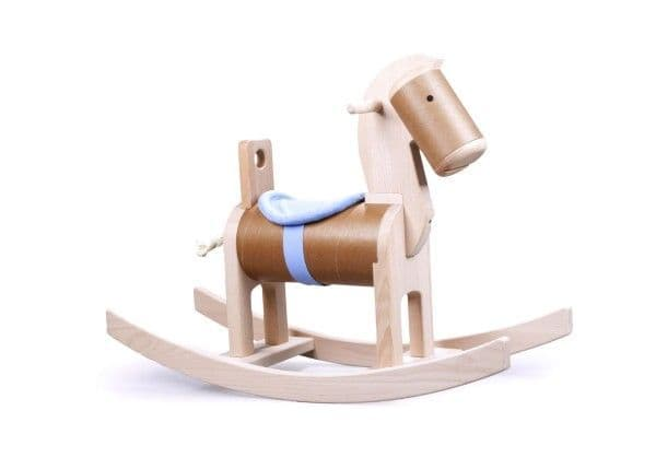 Bajo Classic Wooden Rocking Horse