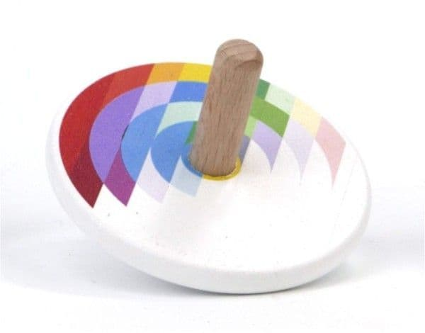 Bajo Rainbow Spinning Top