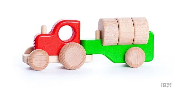 Bajo Tractor With Blocks