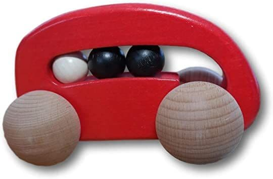 Bajo Wooden Car With Beads