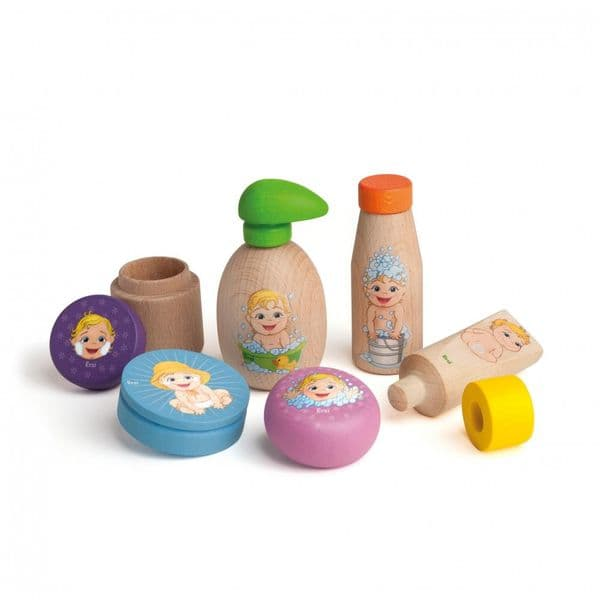 Erzi Wooden Assortment Doll Care