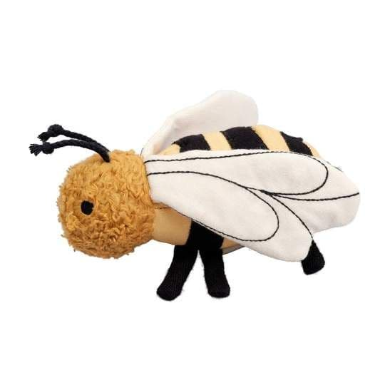Fabelab Fabric Baby Rattle - Bolette Bee