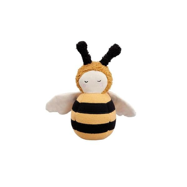Fabelab Fabric Bee Tumbler Soft Chiming Toy
