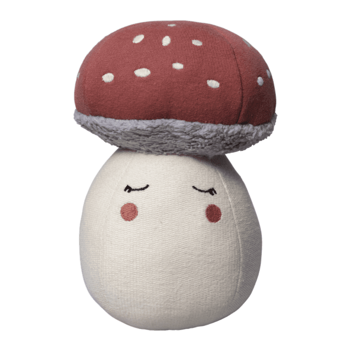 Fabelab Mushroom Tumbler Soft Chiming Toy