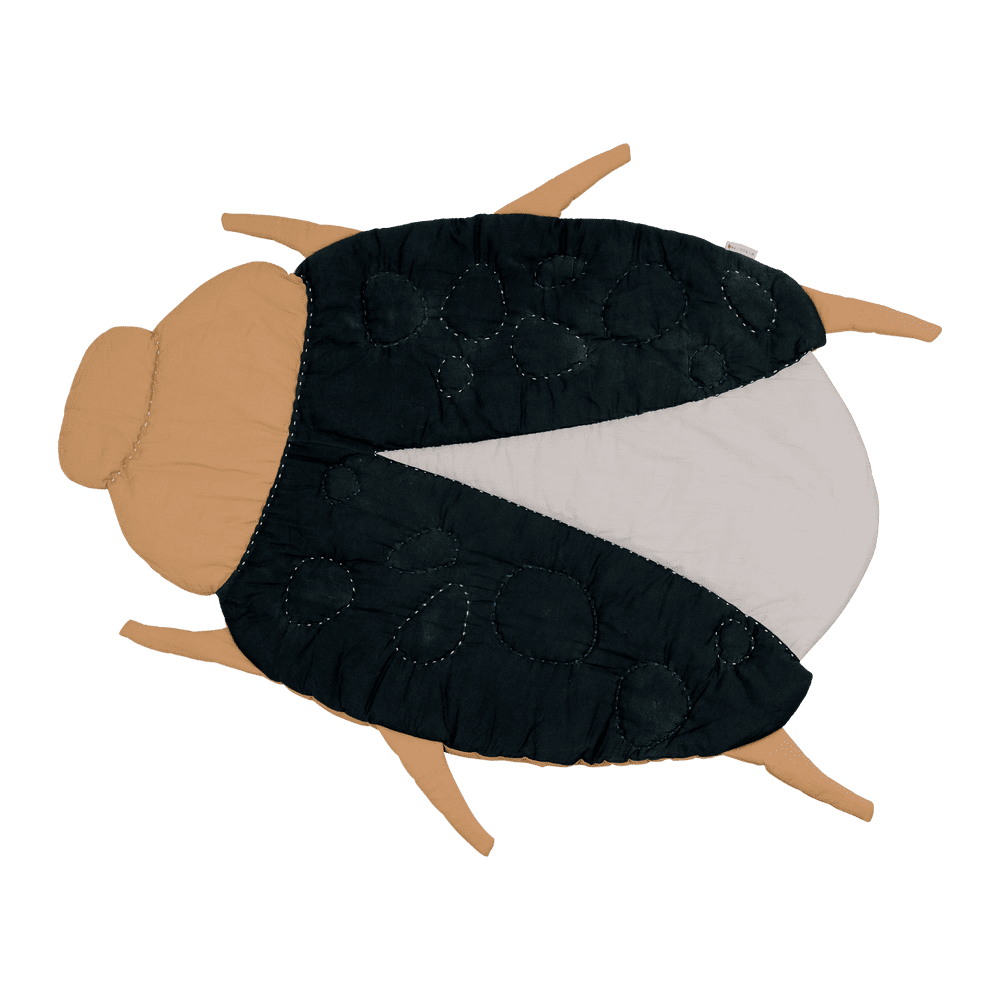 Fabelab Organic Quilted Blanket - Beetle