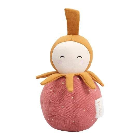 Fabelab Strawberry Tumbler Soft Chiming Toy