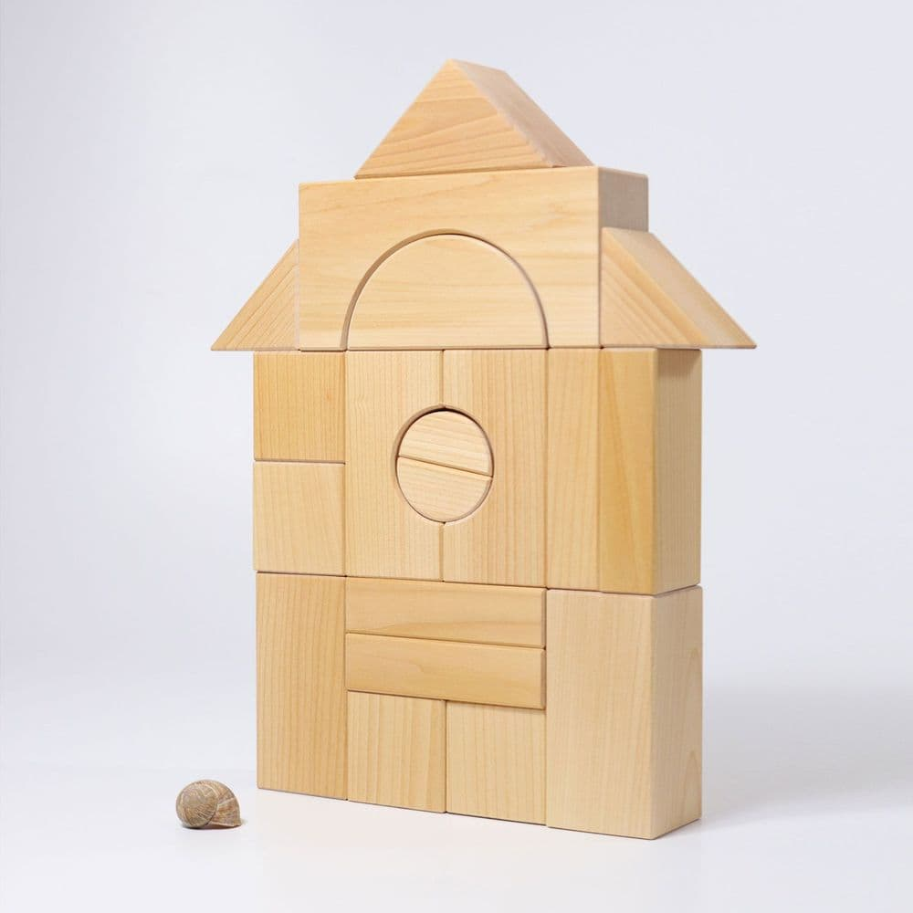 Grimms Giant Natural Wooden Building Blocks
