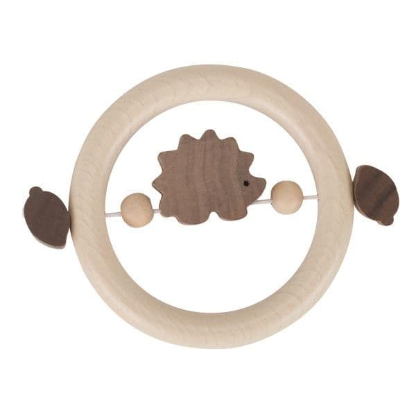 Heimess Wooden Touch Ring Natural Hedgehog