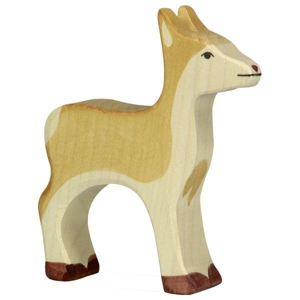 Holztiger Brown Deer Figure