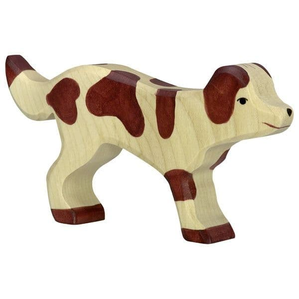 Holztiger Farm Dog Figure