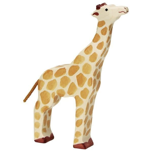 Holztiger Giraffe With Raised Head