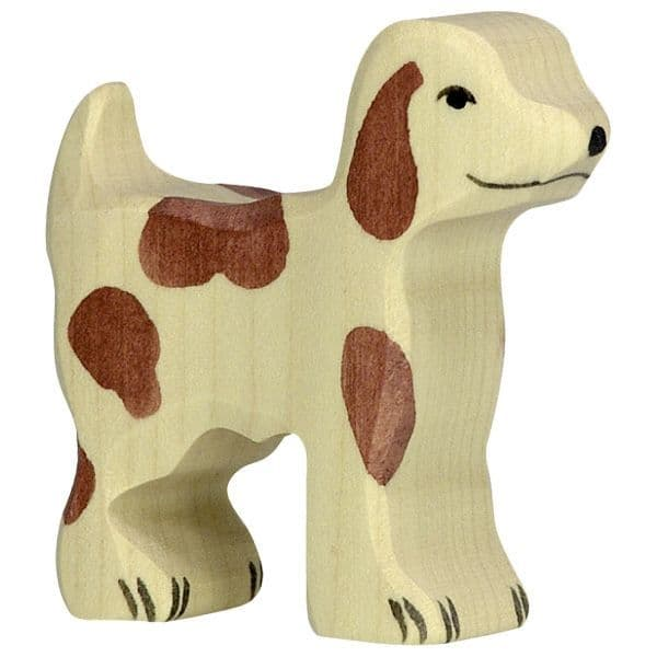 Holztiger Small Farm dog Figure