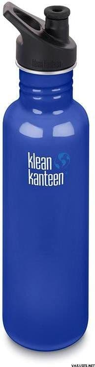 Klean Kanteen Classic Sports Cap Bottle 27oz/800ml - Coastal Waters