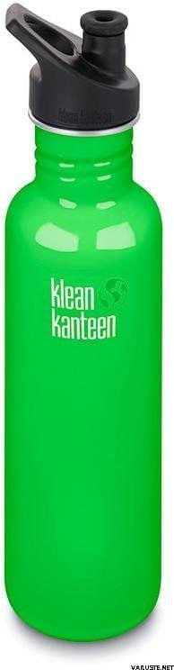 Klean Kanteen Classic Sports Cap Bottle 27oz/800ml - Spring Green