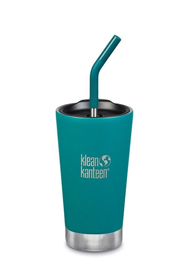Klean Kanteen Insulated Tumbler 16oz/473mls With Straw Lid - Emerald Bay