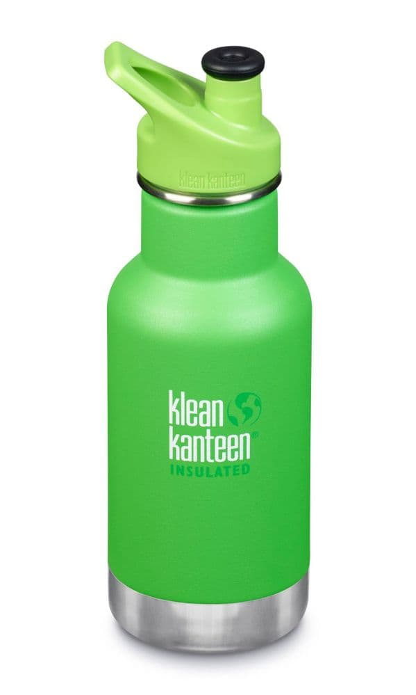 Klean Kanteen Kid Kanteen 12oz/355ml Insluated Bottle - Lizard Tails